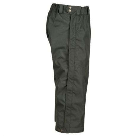 3/4 Over Trousers Ripstop Waterproof Shooting Beating Hunting Full Leg Zip Lined